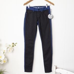 Articles Of Society Jeans Color Block Black & Blue